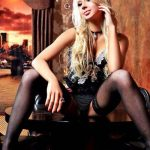 Anna from Izmir escorts is sitting her legs spread apart and gives you the possibility to look at her