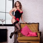 Lada from Russian escort Izmir is undressing bit by bit to your exclusive pleasure