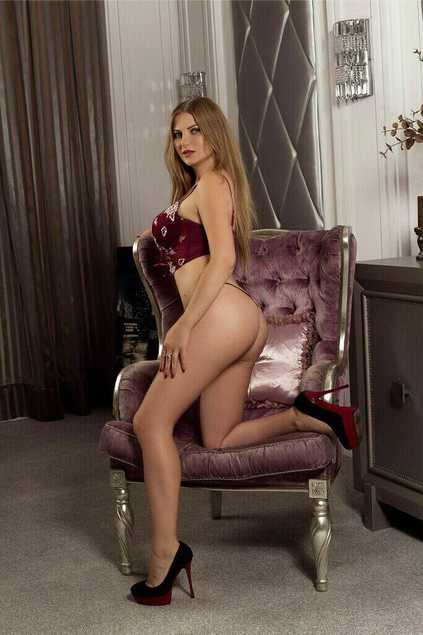 Whatsapp-orderable Polina is showing her high and full-fledged thighs that are so succulent that it is impossible to resist from ordering her right at this moment
